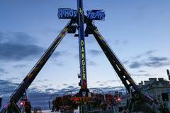 The super pendulum of Plymouth, England Stock Image