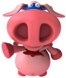 Super pig Stock Photo