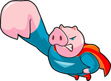 Super Piggy Stock Photography