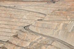 Super Pit - Kalgoorlie. Super Pit in Kalgoorlie - Australia Royalty Free Stock Photo