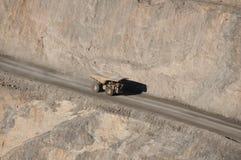 Super Pit - Kalgoorlie. Dump Truck in Super Pit - Kalgoorlie - Australia Royalty Free Stock Photo