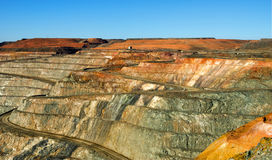 Super Pit Kalgoorlie Western Australia Royalty Free Stock Photography