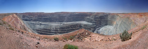 Super Pit Mine - Kalgoorlie stock photos