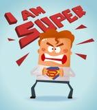Super Pracownik royalty ilustracja
