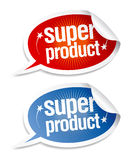 Super product stickers. Royalty Free Stock Photography