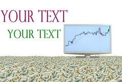 Super profits. Royalty Free Stock Images