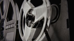Super 8 projector amazing stock video footage