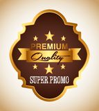 Super promo design Royalty Free Stock Image