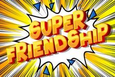 Super przyjaźń - komiksu stylu zwrot ilustracja wektor
