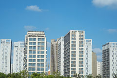 Super Residential Buildings Royalty Free Stock Photo