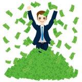Super-Rich Successful Businessman lizenzfreie abbildung