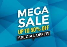 Super sale banner design Royalty Free Stock Photos