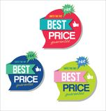Super Sale discount labels tags and stickers collection Stock Images