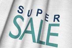 Super Sale Flag Royalty Free Stock Image