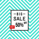Super Sale modern banner in the Memphis style. Template Sale. Big Sale. Special offer. Stock Photos