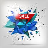 Super Sale poster, banner. Big sale, clearance. Vector illustration. Royalty Free Stock Photo