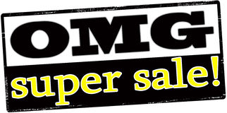 Super sale Stock Image