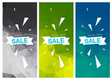 Super Sale Special Offer vertical banners Stock Photos
