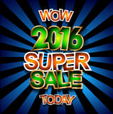 Super Sale Today background for your promotional posters Royalty Free Stock Image