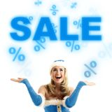 Super sales Royalty Free Stock Photo