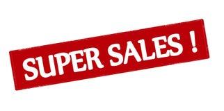 Super sales Stock Photo