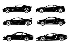 Super samochód Obrazy Royalty Free