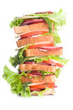 Super sandwich Stock Photo