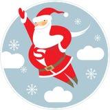 Super Santa Stock Image