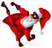 Super Santa Claus Stock Photos