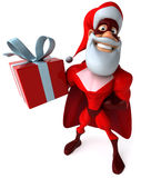 Super Santa Claus Royalty Free Stock Photography
