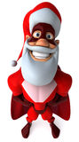 Super Santa Claus Stock Image