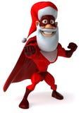 Super Santa Claus Royalty Free Stock Photography