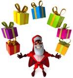 Super Santa Claus Stock Images