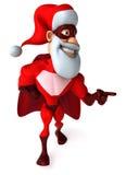Super santa claus Royalty Free Stock Image