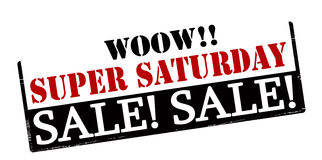 Super saturday sale Stock Images