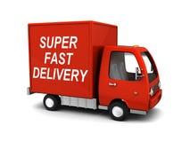 Super schnelle Lieferung stock abbildung