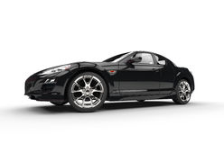 Super schwarzes Auto vektor abbildung