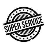 Super Service rubber stamp Royalty Free Stock Image