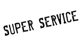 Super Service rubber stamp Royalty Free Stock Photos