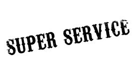 Super Service rubber stamp Stock Images