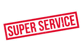 Super Service rubber stamp Royalty Free Stock Photography