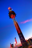 Super Shot Free Fall Amusement Fair Ride Royalty Free Stock Image