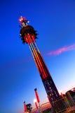 Super Shot Free Fall Amusement Fair Ride Royalty Free Stock Image