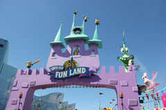 Super Silly Fun Land at Universal Studios Hollywood Stock Images
