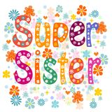 Super sister birthday Stock Photos