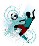 Super soccer Royalty Free Stock Image