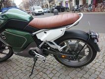 Super Soco elektryczny motocykl zdjęcia stock