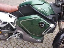 Super Soco elektryczny motocykl obraz stock