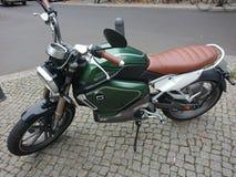 Super Soco elektryczny motocykl zdjęcie royalty free