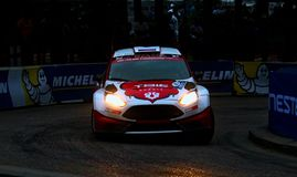 Neste Rally Finland, Harju special stage royalty free stock photography